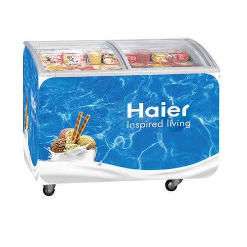 Curved glass door deep freezer at rs 33000 piece fish freezer curved glass door deep freezer planetlyrics Gallery