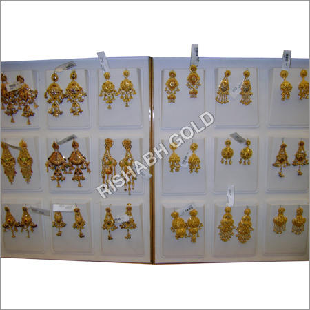 Bridal Gold Earrings Gold & Gold Jewellery