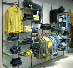 Racks for Garments/Apparels Store