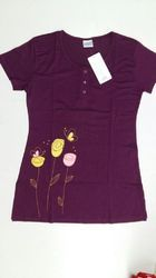 Ladies Button Long Top