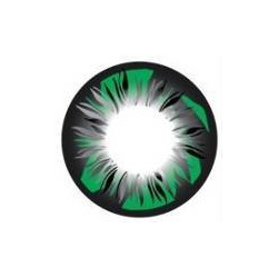 Feather Green Color Contact Lens