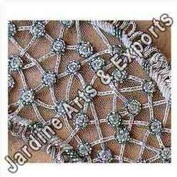 Silver Bead Embroidery