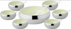 7 Pcs Belly Shape Colored Bowl Set