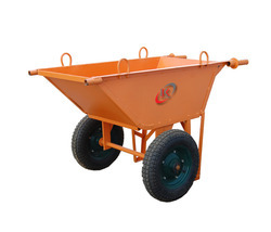 Double Tyre Wheel Barrow