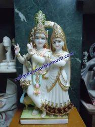Marble Murti Radha Krishna