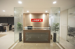 Modern bank interiors in new delhi jamia nagar by m i s furniture
