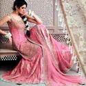 Designer Pink Choli Sharara