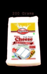Agroha Fresh Block cheese 200 Grams/Cheese Cottage
