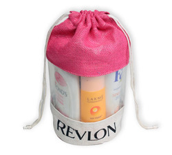 Pouch Pink Cosmetic Drawstring Bags