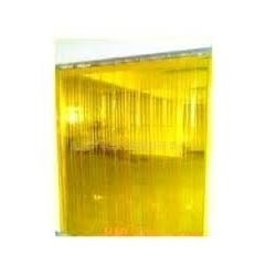 Anti-Insect Amber PVC Strip Curtain