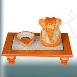Ganesh With Diya