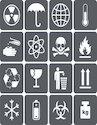 Care Symbols Labels