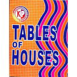 KP Krishman's Tables for Houses for Natal