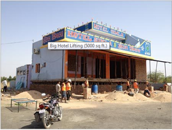 Big Hotel Lifting Construction Service
