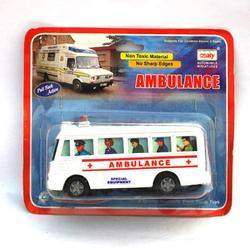 Mini Ambulance Toy Bus