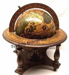 Desktop Nautical Brass Globe