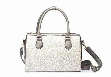 Paprika Bowling Bag In Silver