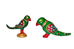 Metallic Parrot Set