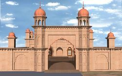 Gurudwara at Bajwara Construction Service