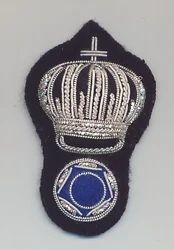 Silver Blazer Badge