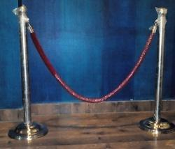 Stainless Steel Queue Manager with Rope