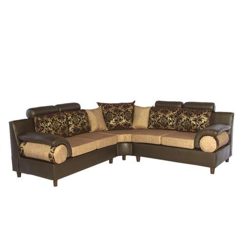 Corner Cushioned Sofa Set