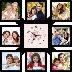Photo Wall Clock Photo Diwar Ghadi Suppliers Traders