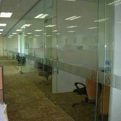 Office Glass Partition 10m.m. Toughened