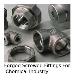 Forged Screwed Fittings For Chemical Industry