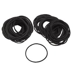 Black Rubber Bands