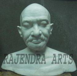 Gandhi Buest( marble statue)