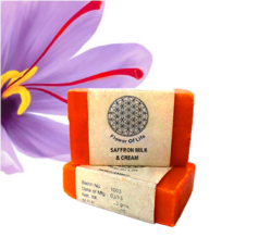 Saffron Milk Cream Soap