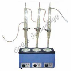 Soxhlet Extraction Apparatus स क सल ट एक सट र क शन एपर टस स क शल ट न ष कर षण उपकरण In Shakurpur Delhi Optics Technology Id 9738138648
