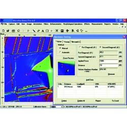 Industrial Metallurgical Hardness Microscope Software