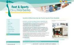 A complete Web site for Clinics
