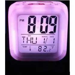 Glowing LED Color Mood Changing Digital Alarm Clock