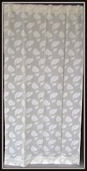 cotton cut work curtain