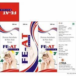 fiat Ferrous Ascorbate and Folic Acid Syrup