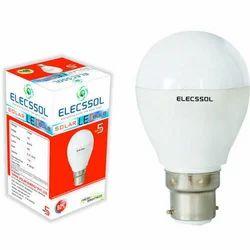 5W ABS Solar LED Bulb