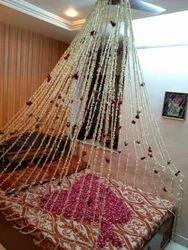 decoration marriage bed.  Flower Decoration Ganpati Manufacturer from Mumbai