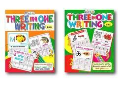 Three in One Writing Practice Book