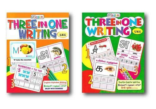 Three In One Writing Practice Book At Rs 130 Pieces Handwriting