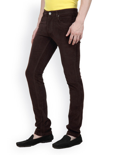 Men Straight Fit Black Jeans