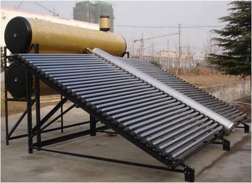 Evacuated Glass Tube Solar Heat Collector Eminent