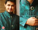 Emerald Green Indo Western Suits