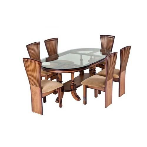 dining table with peacock dining chair