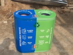 Color Coded Waste Bin DUO