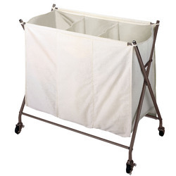 X Shape Laundry Carts