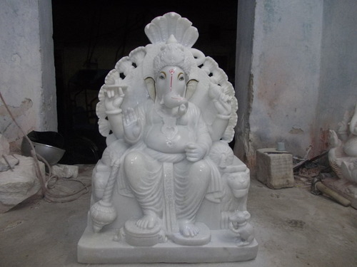 Jaipurcrafts White Ganesh Idols From Marble Rs 30000 Piece