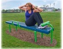Sit Up Station Outdoor Fitness